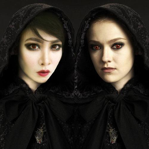 Jane Volturi Inspired Make Up