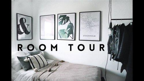 "<div class=""photoCaption"">MY ROOM TOUR | minimal, simple, monochrome | Desenio Collab - YouTube</div>"