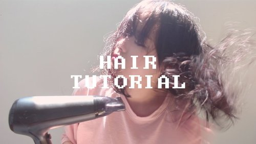 How I Style My Hair - yesiamyulia - YouTube