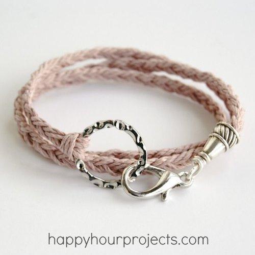 pretty braid bracelet