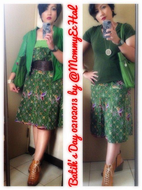 Batik's Day ala E's style ;)