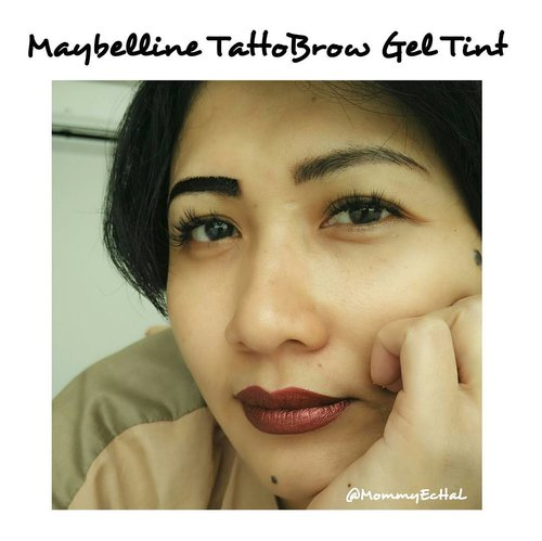 Maybelline TattoBrow Gel Tint from @maybelline #selfpotrait #myselfandi #narcism #tattobrowgeltint #maybellinetattobrow #maybelline #makeupaddict #makeupjunkie #clozettedaily #clozetteid #beauty #makeup #fotd #fdbeauty #femaledaily