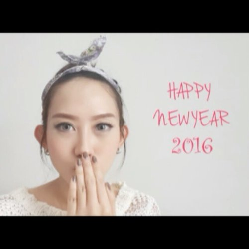 To my dearest family and friends Happy New Year 2016!!! Wish you have a great year ahead!! 😘😘😘😘 #happy #happynewyear #newyear #newyeargreeting #greeting #2016 #tahunbaru #beauty #beautyblog #beautyblogger #indonesiabeautyblogger #ibb #beautybloggerindonesia #fotd #stopmotion #stopmotionanimation #instadaily #potd #picoftheday #like #like4like #clozetteid #clozette #bblogger #bblog