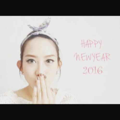 To my dearest family and friends Happy New Year 2016!!! Wish you have a great year ahead!! 😘😘😘😘 #happy #happynewyear #newyear #newyeargreeting #greeting #2016 #tahunbaru #beauty #beautyblog #beautyblogger #indonesiabeautyblogger #ibb #beautybloggerindonesia #fotd #stopmotion #stopmotionanimation #instadaily #potd #picoftheday #like #like4like #clozette #clozetteid