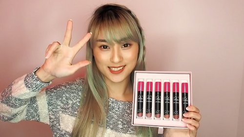 Now you can watch my video about @pixycosmetics New Lip Cream Nude Series in my youtube channel... In there i will give you the swatch and review of course.. Just click the link in my bio or here https://youtu.be/usbguD5GCsg to get there . . Dont forget to leave a thumbs up, subs and comment yaa.. See yaaa . . . . . #PIXYAsianBeautyBlogger #clozetteidxpixy #clozetteidreview #pixycosmetics @clozetteid