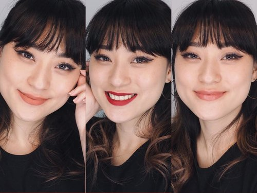Can you guess what lipstick im using in this video?? First impression dan swatchnya sdh bs kalian tonton di youtube channelku ya.. Link in my bio..