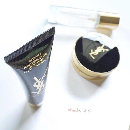 ✨ Top Secret Moisture Glow 💖 • • #beautyaddict #makeupjunkie #fdbeauty #ysl #yslbeauty #cushionfoundation #femaledailynetwork #clozette #clozetteid #clozettedaily