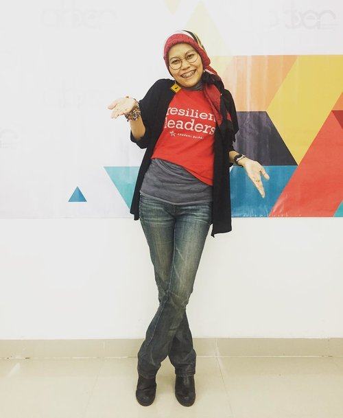 Sometimes, text written on shirt are wishes as pray whispered..#clozetteid #OOTD #HOTD #fashionaddict #fashionableme #fashionate #fashionation #fashionic #fashionableblogger #akber #akademiberbagi #volunteer #volunteerspirit #staycation #amaris #latepost