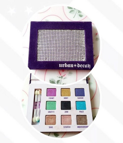 Joining in on the #bbsquad weekly post : Current eye makeup product. This #urbandecay deluxe shadow palette has been with me for a while and it's always a favorite for traveling or a short stayover because it has neutral shades for daily wear and also vibrant shades for events or parties. 🌸🌸🌸🌸 #bbsmei #bbseyessentials #eyeshadow #makeup #makeupgram #instamakeup #palletes #beautygram #bbloggers #clozetteid
