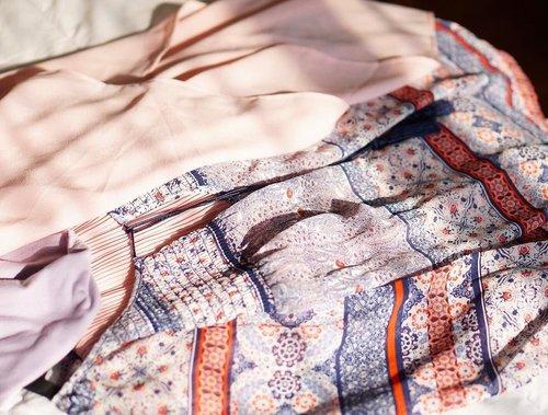 < Today's Colors > 💐 . . . . #outfitoftheday #flatlay #pastel #pinkandpurple #iglove #pastelcolors #pastelaesthetic #shabbychic #lookbook #currentlywearing #stylediaries #clozetteid #patterns #colorsofinstagram