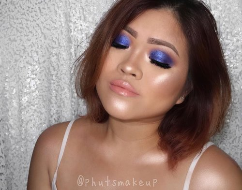 PRODUCT USED . . EYES @morphebrushes x @jaclynhill palette #morphebrushes #morphexjaclynhill  @tartecosmetics Clay Pot Waterproof Shadow Liner *Bubblegum #tartecosmetics #tarte #tarteskin Glitter @eclatpressedglitter *Admiral . . CHEEKS @lagirlindonesia Pro Contour Powder *Light #lagirlindonesia @maccosmetics Powder Blush *Lesson In Love #MACCosmetics #MACCosmeticsID @jeffreestarcosmetics Skin Frost *Peach Goddess #jeffreestarcosmetics #skinfrost . . LIPS @kyliecosmetics Send Me More Nude Velvet *Bare @kyliecosmetics Koko Collection Gloss *Damn Gina #kyliecosmetics