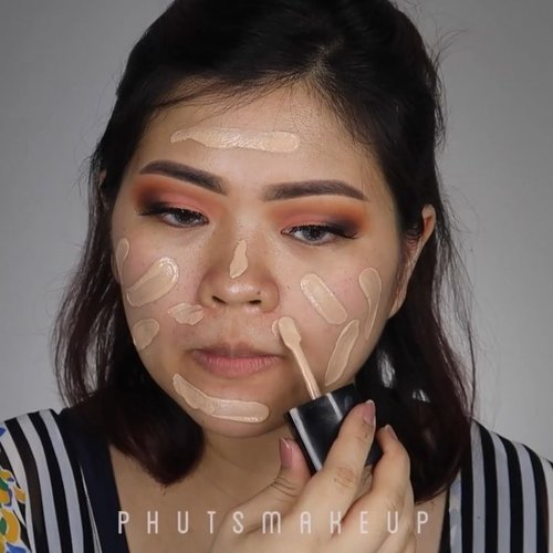One brand makeup tutorial using @wetnwildbeauty #wetandwildbeauty #wetandwild @wnwcosmetics #wnwcosmetics #staywild ..PRODUCT USED Photo Focus FoundationPhoto Focus Concealer Mega Glow Highlighting Powder - Precious PetalColor Icon Eyeshadow Palette - Not A Basic Peach MegaLast Liquid Catsuit Matte - Nudist Peach & Give Me Mocha ..Lashes @beautiflo.id in Scarlet (my new fave lashes at the moment, you see how easy to apply, bendable and looking natural. So perfect for my daily look) anyway, @beautiflo.id is having 10% sale at Shopee. Go check it out 😉