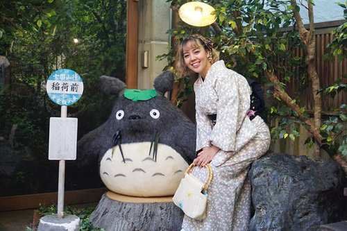 See you soon, Totoro! ⠀⠀⠀⠀⠀⠀⠀⠀⠀#kyoto #totoro #utotiatravel #minioninjapan #visitkyoto #clozetteid #throwbacktuesday