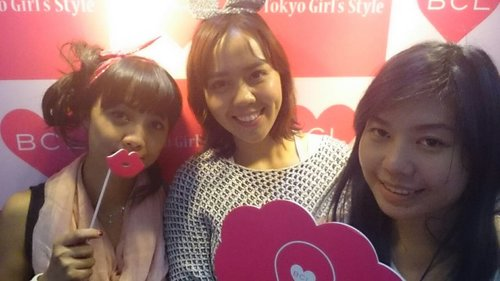 JAPAN BEAUTY WEEK earlier this month at BCL Tokyo Girl's Style booth