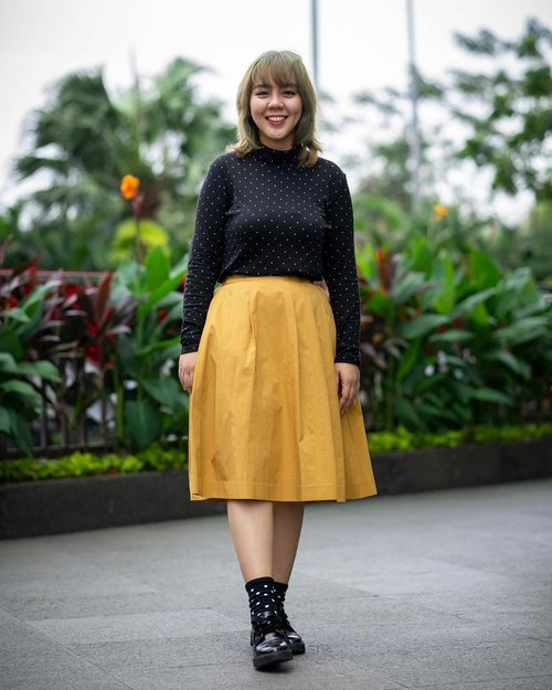 """<div class=""""photoCaption"""">Finally back:  <a class=""""pink-url"""" target=""""_blank"""" href=""""http://m.clozette.co.id/search/query?term=ootd&siteseach=Submit"""">#ootd</a> with my fave pattern and color: polkadot + yellow! 📷 by: @clickheartphotography ❤️ the result!<br /> <br />  <a class=""""pink-url"""" target=""""_blank"""" href=""""http://m.clozette.co.id/search/query?term=ootdinspo&siteseach=Submit"""">#ootdinspo</a>  <a class=""""pink-url"""" target=""""_blank"""" href=""""http://m.clozette.co.id/search/query?term=clozetteid&siteseach=Submit"""">#clozetteid</a>  <a class=""""pink-url"""" target=""""_blank"""" href=""""http://m.clozette.co.id/search/query?term=polkadots&siteseach=Submit"""">#polkadots</a>  <a class=""""pink-url"""" target=""""_blank"""" href=""""http://m.clozette.co.id/search/query?term=ootdindonesia&siteseach=Submit"""">#ootdindonesia</a>  <a class=""""pink-url"""" target=""""_blank"""" href=""""http://m.clozette.co.id/search/query?term=bloggerstyle&siteseach=Submit"""">#bloggerstyle</a>  <a class=""""pink-url"""" target=""""_blank"""" href=""""http://m.clozette.co.id/search/query?term=awkwardpose&siteseach=Submit"""">#awkwardpose</a></div>"""