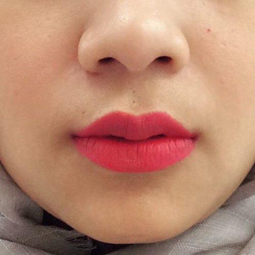"""If you're sad, add more lipstick and attack"" - Coco Channel #lips #redlips #lipstick #makeup #quotes #clozette #clozetteid"