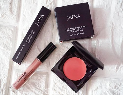 @jafracosmetics Long Wear Creme Blush and Liquid Matte Lipstick review and why you should try their irresistible blush http://whileyouonearth.blogspot.com/2018/09/jafra-long-wear-creme-blush-and-liquid.html?m=1Product made available by @emcosmeticindo #review #cosmetic #beauty #clozetteID #bblogger #jafra #blush #jafraindonesia #liquidmattelipstick #creamblush #softpink #beautyproducts #makeup #dailymakeup #favorite #motd #ootd #lotd #potd