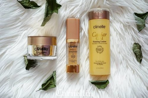 Sering traveling, kulit menghadapi berbagai macam kondisi dan situasi. Mulai dari sun exposure sampai kekeringan. Dengan @clinelleid Caviar Gold collection, my skin remains moist, elastic and firm.Thank you @clozetteid for the opportunities reviewing them.Read the full details here:http://whileyouonearth.blogspot.com/2018/06/clinelle-caviar-gold.html?m=1@clozetteid  @clinelleid  #Clozetteid #skincare #ClinelleXClozetteIdReview #ClinelleIndonesia #ClinelleCaviarGold #Clinelle #ProtectandRevive#blogger #agingskin #firmskin #beauty #skincare #style #flatlay #cream #goldskincare #golden