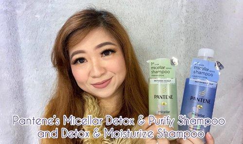 Micellar Shampoo dari @pantene yang tanpa silikon dan formula yang ringan, bikin kulit kepala bersih dan terasa lebih fresh. Gak bikin lepek dan aromanya enak banget ❣️Full review on:https://youtu.be/lAF6Gan815o#pantene #micellarshampoo #shampoo #perawatanrambut #haircare #scalpcare #beauty #instabeauty #reviewshampoo #instadaily #igers @panteneid #igdaily #nosilicone #clozetteID #rambutsehat #rambut #coloredhair #hairstyle #igers #potd #motd #lotd #lookoftheday #pic #pictureoftheday #shampooing #love #mood #moodbooster #moodoftheday