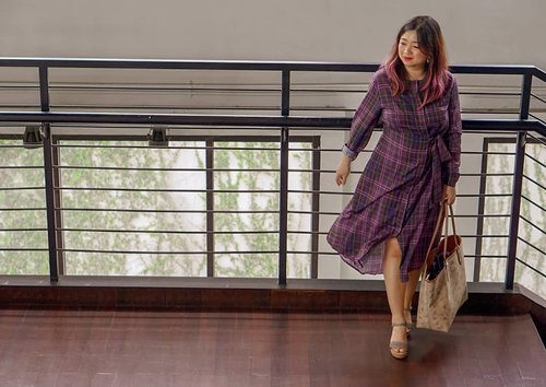 Are you ready for today?______Wearing #nnafashionErica Dress Multi Check______#beauty #carnellinstyle #love #dressoftheday #motd #lotd #ootd #photooftheday #photography #lookoftheday #outfit #outfioftheday #outfitinspo #lookbook #style #styleoftheday #ClozetteID