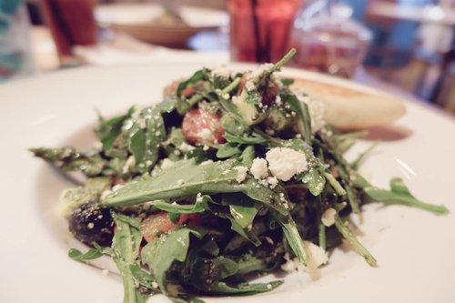Rocket Salad... karena Minggu sudah makan pasta 🤦  #foodoftheday #salad #ClozetteID #healthyfood #lunch #fresh #love #veggies #musttry #ketosis #ketodiet #freshfood #yums