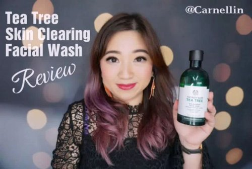 Siapa bilang Tea Tree Skin Clearing Facial Wash cuma ampuh buat muka aja?  Tonton deh videonya, bisa buat ehm and ehm juga 😉  https://youtu.be/_9QXbrKKt_s  @thebodyshopindo @thebodyshop #teatreeoil #thebodyshop #teatreefacialwash #clearskin #antiacne #acnecare #backacne #cleansing #cleanskin ##skincare #antibacterial #skincareroutine #purifying #vlogger #clozetteID #beauty #vloggerindonesia #review