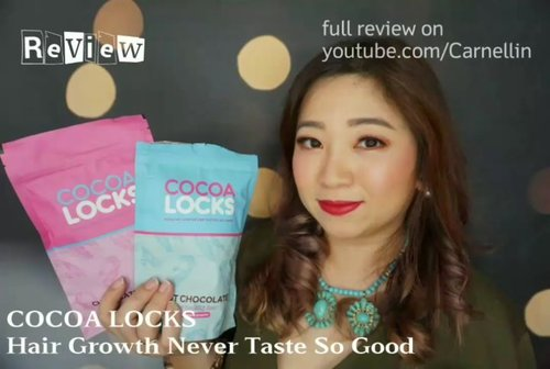 Longing for a fuller hair with improved conditions?  Try @cocoalocksofficial Hot Chocolate and/or Hairshake for a month and see the results.  Full review here: https://youtu.be/trZ5Q6-5eD4  #cocoalocksofficial #cocoalocks #hairnutrition #cocoashake #hairsupplement #vlogger #beauty #clozetteID #supplements #beautysupplements #review #blog #vlog #beautyvlogger #beautyvloggerindonesia