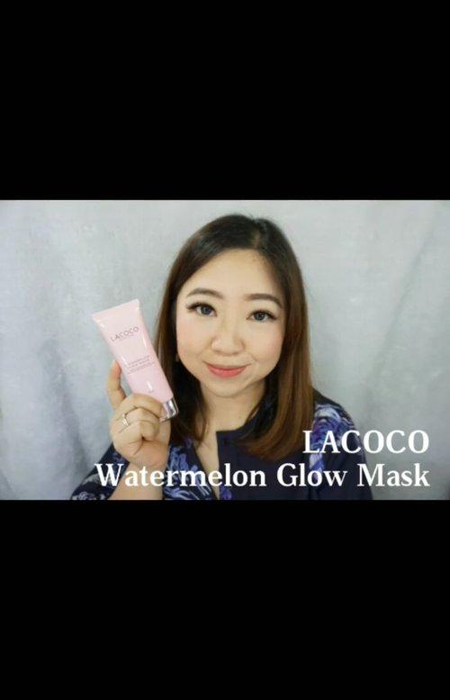 Watermelon Sleeping Mask dari Lacoco en Nature yang diperkaya dengan semangka dan pisang. Aku pakai kurang lebih semingguan dan terbukti mudah diserap kulit. Melembabkan dan menutrisi kulit jenis apapun saat kita tidur. Review lengkap ada di video ini.  @Lacoco.ID @JakartaBeautyBlogger #Lacoco #LacocoWaterMelonSleepingMask #JBBLacoco #JakartaBeautyBlogger #JakartaBeautyBloggerReview  #igbeauty #beauty #igvideo #review #Clozetteid #flawless #moistskin #love #hydrating