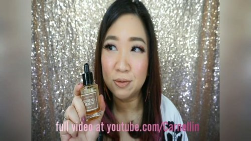 Akhirnyaa setelah dipakai kurang lebih sebulan, bikin juga video review @thenakedseries.co I'm From Ginseng Serum.  Video lengkap di youtube: https://youtu.be/HtcFvLN8zrw  @imfrom_global @imfrom_official  #wishtrend #ginsengserum #ginseng #clozetteID #serum #skincare #antiagingserum #antiaging #naturalskincare #naturalproduct #beauty #1minvideo #love #musttry #videooftheday