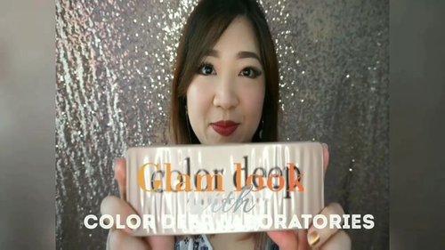 #Glam shine look with @altheakorea COLOR DEEP laboratories.  Full video at: https://youtu.be/lJ-PXr_RcFY  #videooftheday #youtube #youtuber #beautyvloggerindonesia #beaytyvlogger #motd #love #Eyeshadow #makeupvideo #hello #clozetteID #glammakeup #beauty #AltheaAngels #AltheaKorea