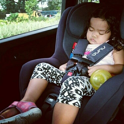It's better to hear them crying on their carseat, than to have a tears on my eyes when they get hurt. Their safety is my priority ☺
