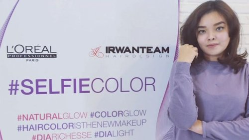 💆 EXPERIENCE SELFIE COLOUR AT IRWAN TEAM HAIR DESIGN 💆 . . Sekilas pengalaman aku mencoba Selfie Colour di @irwanteamhairdesign at @summareconmalbekasi. . Mulai dari kedatangan sampai saya pulang disambut dengan sangat ramah. I really feels like home here 🤗 . Thanks for your great service. .. One again, buat yang mau baca reviewku, mungkin ada yang takut mencoba atau ada yang mau treatment disini, bisa baca tulisanku disini. Its really2 honest review. . Bit.ly/SelfieColour . .. I will upload this full video at my youtube channel. Tungguin ya 😊✌ .. #ClozetteID #ClozetteIDReview #IrwanTeamxClozetteIDReview #IrwanTeamReview #SelfieColor #LorealProID #naturalhaircare #colouringHair