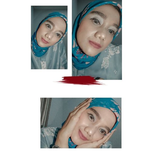 Mengeksplore makeup dirumah  Eyeshadow by @id.oriflame  Blush on by @rabbithabitofficial  Lipstik by @wardahbeauty  Alis by @wardahbeauty  • • • #beautyinfluencers #beautyblogger #lemoninfluencer #lemonsquad #2020 #adobelightroom #tonekillers #preset #igotd #FullSpeedFlagship #DareToLeap #clozetteid