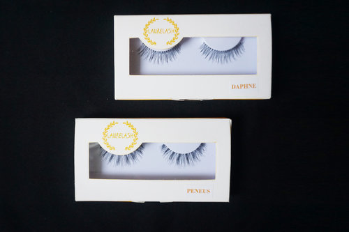 New fake lashes review on www.beautyappetite.com ! They're from Laure Lash :) #supportlocalbrand