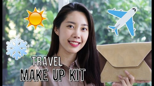 Makeup Travel Bag (Isi Tas Makeup Buat Traveling)