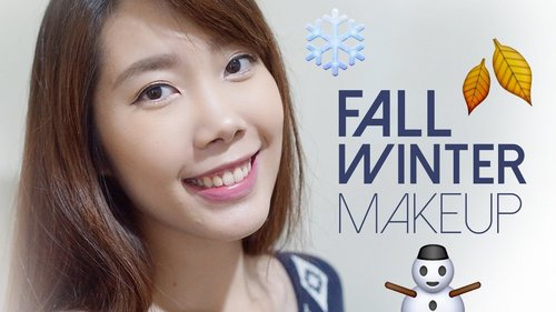 Fall/Winter Korean-Inspired Makeup Tutorial