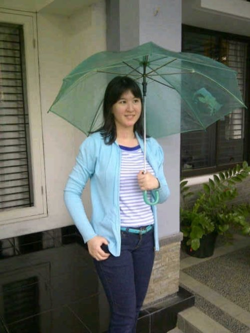 My #DENIM style for rainy day #ClozetteID #COTW