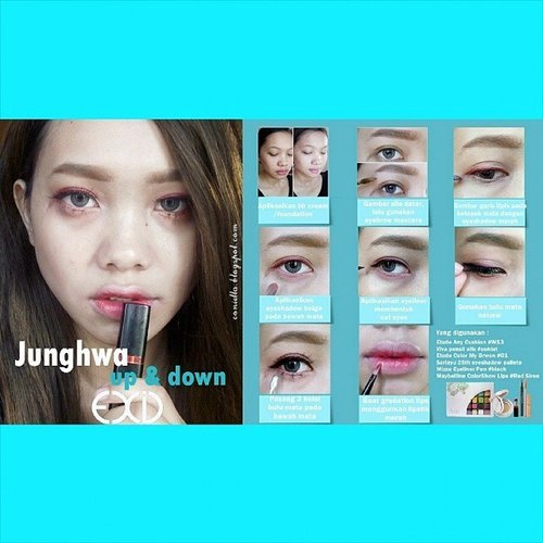 "EXID Junghwa ""Up & Down"" makeup tutorial, visit my blog : www.conietta.blogspot.com (or click my bio) @junghwa_0508 #EXID #EXIDUp&Down  #ConiettaCimund #indonesianbeautyblogger #beautybloggerindonesia #beautyblogger #asiangirl #clozetteid #makeup"