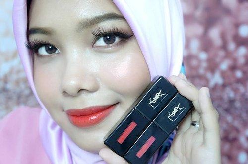 Juicy juicy juicy lips with @yslbeauty Vernis à Lèvres Vinyl Cream . . . . . . #YSL #yvessaintlaurent #yslbeauty #yslbeautyid #vinylcream #juicylips #bloggerlife #indonesianbeautyblogger #coniettacimund #lipswatch #clozetteid