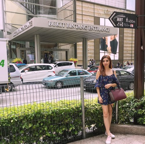 A good place to spend your money — Paradise for a shopaholic 🛍 #PavilionKL #WhenInMalaysia . . . . . #iglife #potd #instahub #igfashion #igtravel #visitKL #BukitBintang #shoppingday #traveloutfit #iamtb #travelinglady #ootd #jumpsuit #somethingborrowed #somethingborrowedofficial #zalora #zaloraid #bag #michaelkors #sneakers #adidas #likes #follow #blogger #travelblogger #fashionblog #StellangelitaInKL #ClozetteID