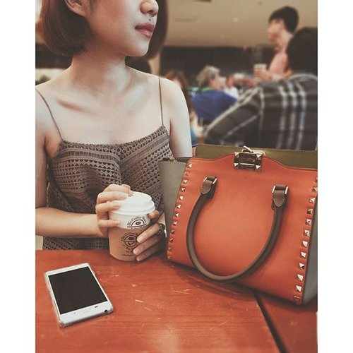 Coffeeing Colour-coordinating Dating  Thank you @kevin_kto #latepost #weekend #coffee #cafe #caffeine #caffeineaddict #coffeeaddict #vsco #vscogood #vscolove #vscocam #outfitoftheday #instadaily #instagood #self #portrait #ootd #ootdindo #chocochipsootd #Valentino #love #fall #colours #fdbeauty #femaledailynetwork #femaledaily #clozetteid #clozette #clozetteco