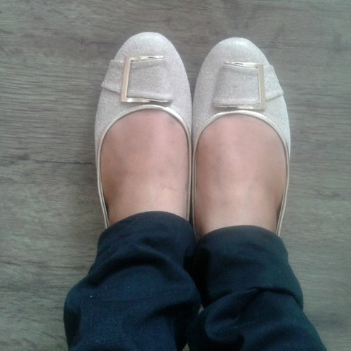 Shoes Of The Day #Nude #Fladeo #ClozetteIndonesia #ClozetteID #Shoes #FlatShoes