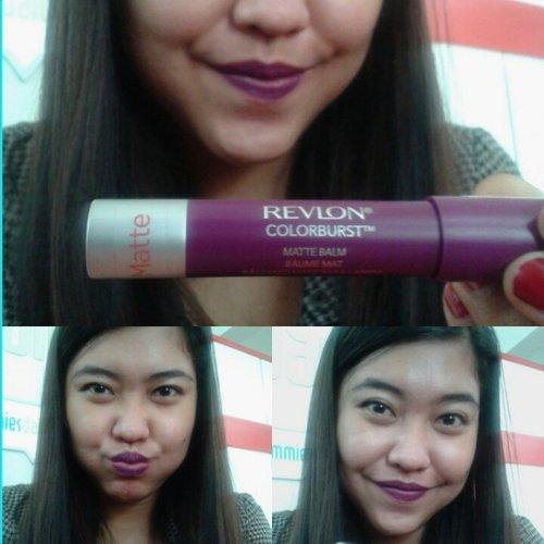 Love purple #Lipstick @Revlon #Matte #Purple #Cute #Nice #ClozetteID #FDBeauty #PhotoGrid