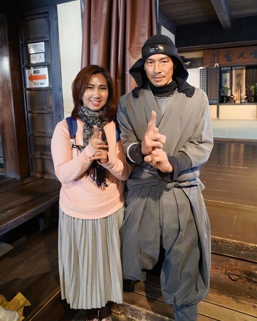 Have you met a Ninja before? I bet you don't. Because Ninjas don't wish upon a star, they throw them. 😅 . Blog updated about my visit to Ninja Museum. Link on my bio. . . . . . #ninja #ninjawarrior #museum #ninjamuseum #japan #igaryu #iga #travel #travelgram #instatravel #sonyalpha #blogger #travelblogger #instadaily #instamood #instagood #instamoment #clozetteid #like4like