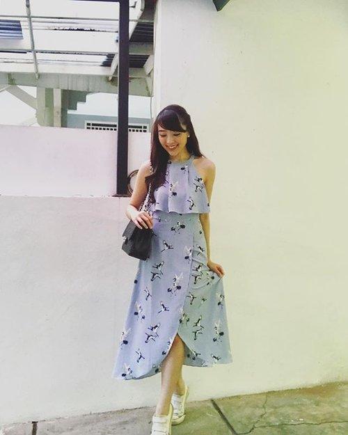 Good Morning.... #sayaLB #lovebonito #lovebonitoid #dress #dressy #ootd #ootdindo #ootdasean #look #lookbooksg #lookbook #lookbooklookbook #lookbookindonesia #fashion #fashionstyle #fashionable #fashionblogger #travel #travellers #travelling #travellove #clozetteid #clozetteambassador
