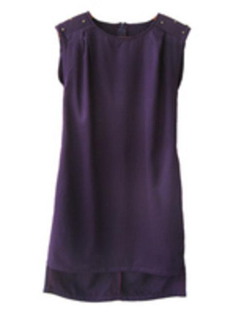 Rakuten BELANJA ONLINE: Periwinkle Nocturnal Purple Shoulder Beads Dress(FashionLebaran) < Formal Dress < Dress < Periwinkle