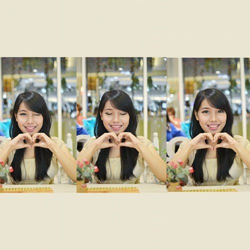 Love love is you~~ 💕💕💕 #clozetteid #ulzzang #ulzzangmakeup #kawai #asiangirl #koreangirl #korean #love #lovesign #wink #softcolor #pastelcolors #girly #feminim #igdaily #igers #fotd #indonesian #japanesegirkoreangirlitusemuakhayalanbelaka