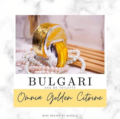 #auzolareview Yang lagi nyari parfum cus nih ada EDT yang cakeppp banget!  .  Apalagi kalau kalian pecinta @bulgariparfums Omnia, jangan sampai ketinggalan ya Omnialandia Golden Citrine ini💕💕 .  Full reviewnya pernah aku post tahun lalu di blogku www.rainbowdorable.com ❤ .  .  .  .  #bulgari #bvlgari #bulgariparfums #bulgariomnia #omnia #omnialandia #eaudetoilette #fragrance #review #cchannelbeautyid #fdbeauty #clozetteid