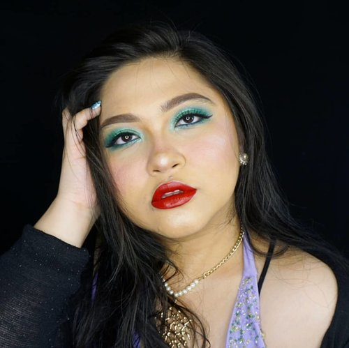 Ceritanya Ariel vibes lol....#thelittlemermaid #ariel #disney #disneyprincess #mermaid #clozetteid #cchannelbeautyid #fdbeauty #redlips