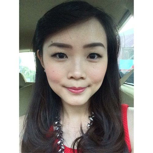 Coral red mood today #fotd #motd #clozetteid